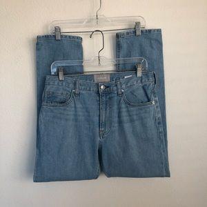 EVERLANE Light Wash Regular High Rise Denim Jeans